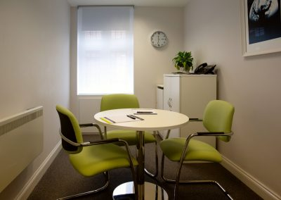 A client meeting room at our Beaconsfield office