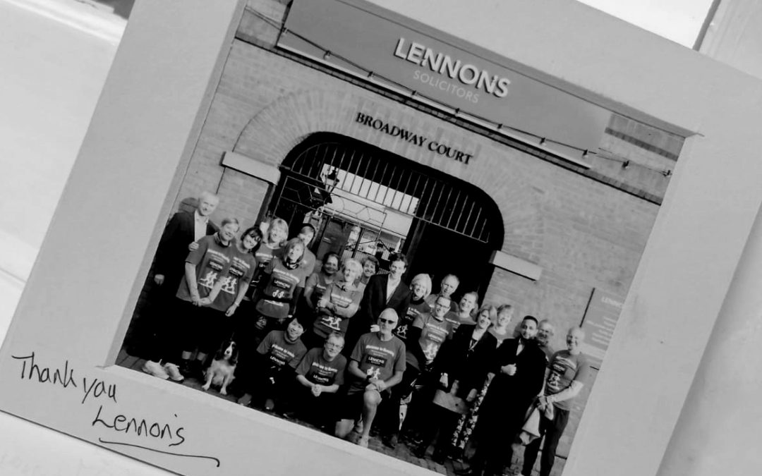 Lennons Enjoy A Visit From Chesham's Welcome To Running Group