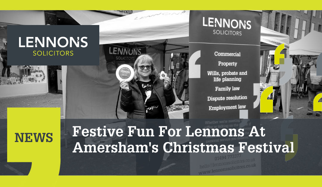 Festive Fun For Lennons At Amersham's Christmas Festival