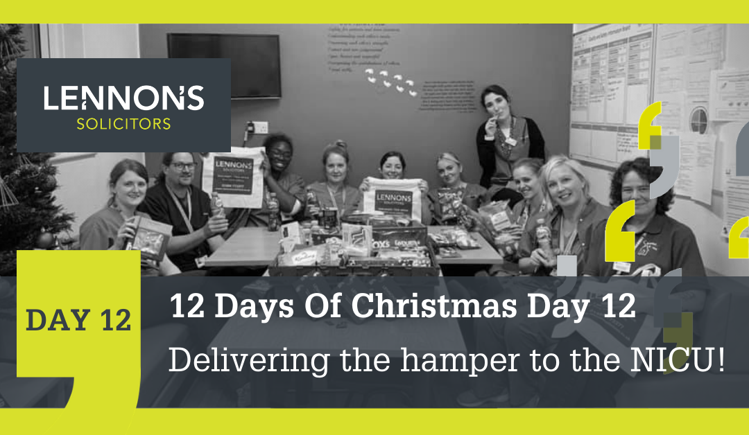 12 Days of Christmas: The Final Day!