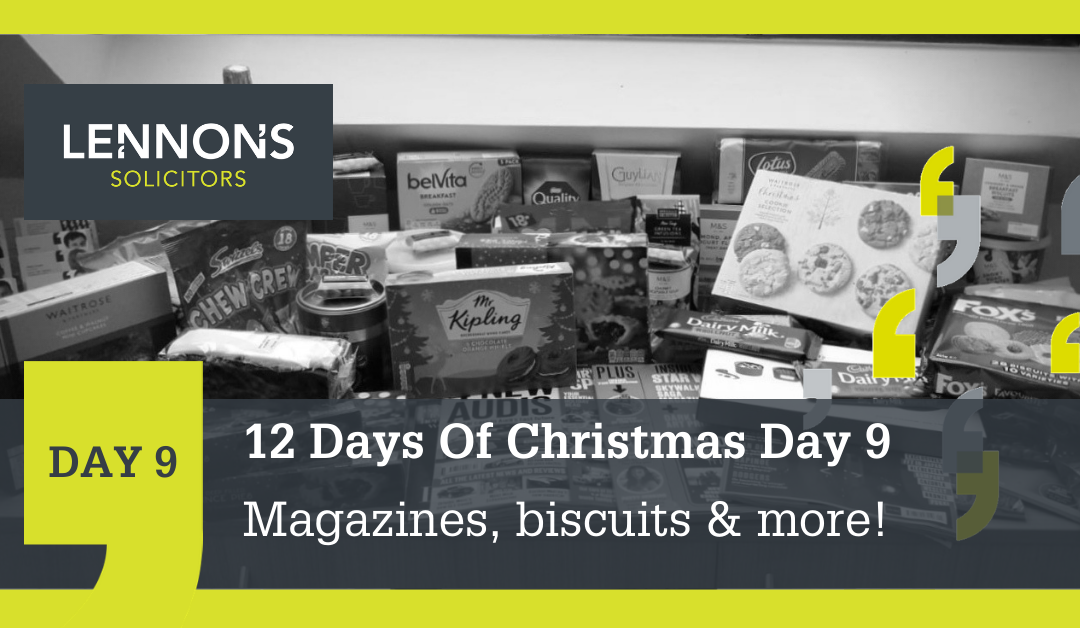 12 Days of Christmas: Day 9