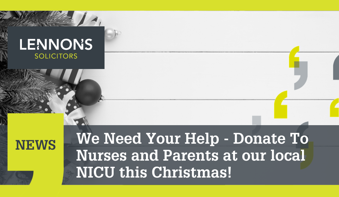 12 Days of Christmas – Donating to Luton & Dunstable Hospital's NICU Appeal
